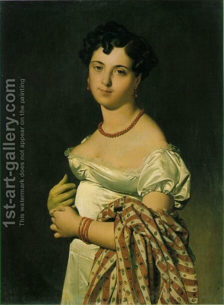 Bochet by Jean Auguste Dominique Ingres - Reproduction Oil Painting
