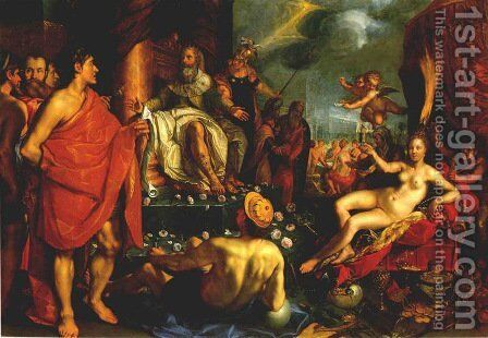 Allegory by Hendrick Goltzius - Reproduction Oil Painting