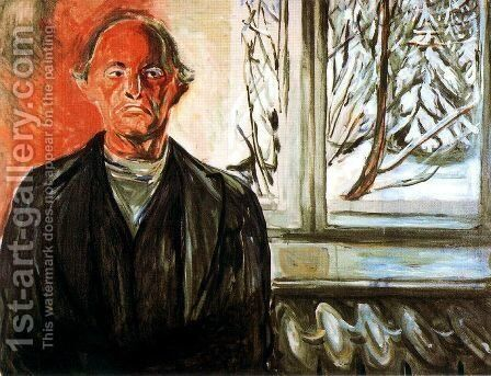 By the Window by Edvard Munch - Reproduction Oil Painting