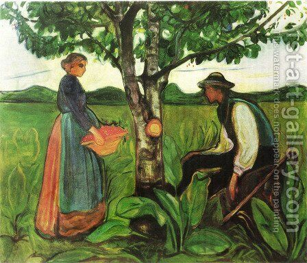 Fertility 1902 by Edvard Munch - Reproduction Oil Painting