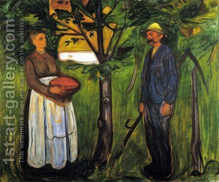 Fertility II by Edvard Munch - Reproduction Oil Painting