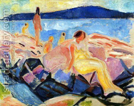 High Summer II by Edvard Munch - Reproduction Oil Painting