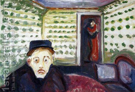 Jealousy II by Edvard Munch - Reproduction Oil Painting