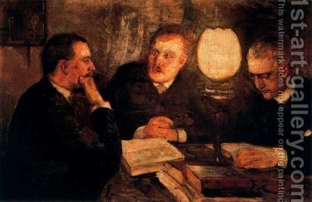 Jurisprudence by Edvard Munch - Reproduction Oil Painting