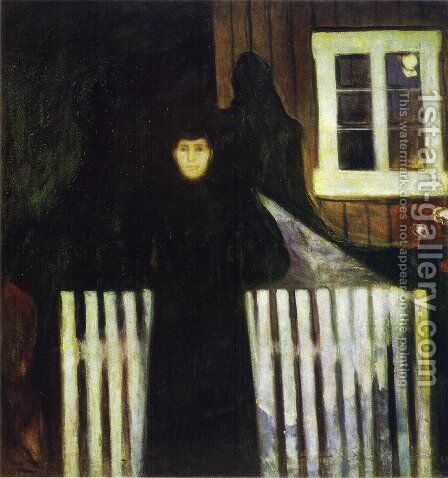 Moonlight 1893 by Edvard Munch - Reproduction Oil Painting