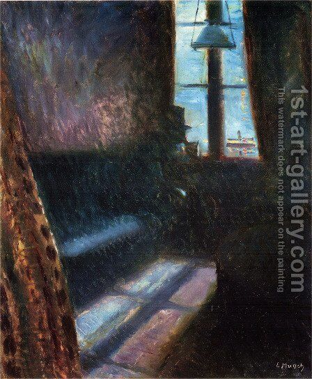 Night in St. Cloud by Edvard Munch - Reproduction Oil Painting