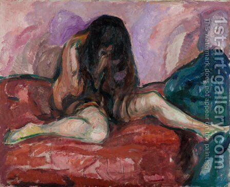 Nude by Edvard Munch - Reproduction Oil Painting