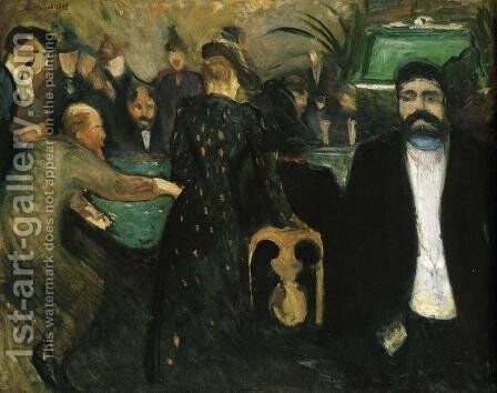 The Roulette I by Edvard Munch - Reproduction Oil Painting