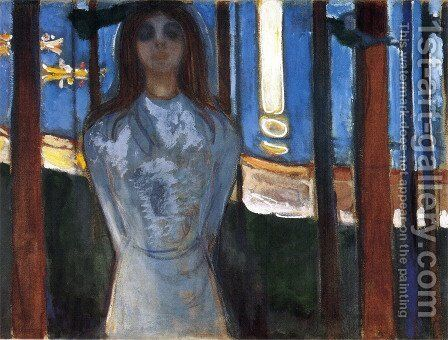 The voice 1893 by Edvard Munch - Reproduction Oil Painting