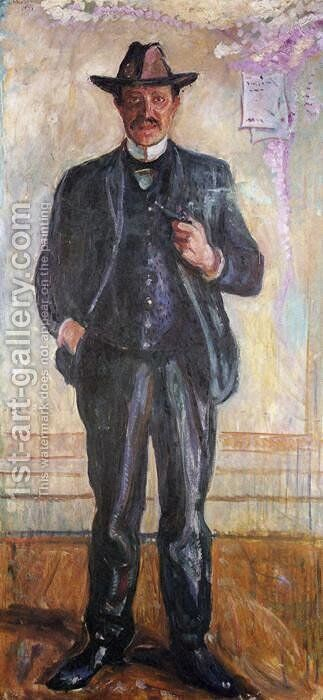 Thorvald Stang by Edvard Munch - Reproduction Oil Painting