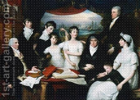 Hope Family by Benjamin West - Reproduction Oil Painting
