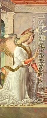 The Archangel Gabriel by Jacopo da Montagnana - Reproduction Oil Painting