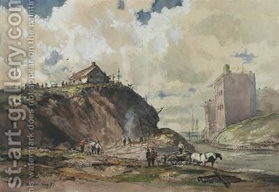 The Way the City is Built 1877 by Charles Henry Miller - Reproduction Oil Painting