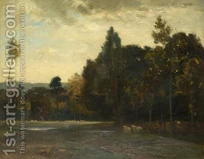 Autumn by James Coutts Michie - Reproduction Oil Painting