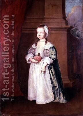 Miss North 1649 by J.C. Meyern - Reproduction Oil Painting