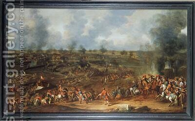 The Siege of Namur 1692 by Hendrick de Meyer - Reproduction Oil Painting