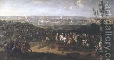 The Siege of Maastricht in 1673 by Adam Frans van der Meulen - Reproduction Oil Painting