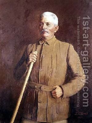 Sir Henry Morton Stanley 1840-1904 African explorer 1890 by Emily M. Merrick - Reproduction Oil Painting
