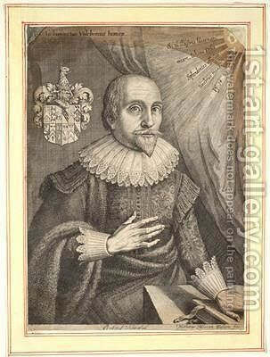 Robert Fludd by Matthäus the Elder Merian - Reproduction Oil Painting