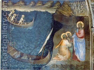 The Calling of Andrew and Peter by Giusto di Giovanni de' Menabuoi - Reproduction Oil Painting