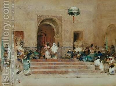 King Cophetua and the Beggar Maid by Arthur Melville - Reproduction Oil Painting