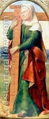 St Helen by Altobello Meloni - Reproduction Oil Painting
