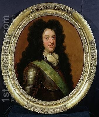 James Douglas 1658-1712 4th Duke of Hamilton 1705 by Sir John Baptist de Medina - Reproduction Oil Painting