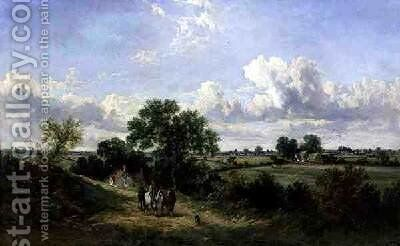 Returning Home from Harvesting Suffolk by James Edwin Meadows - Reproduction Oil Painting