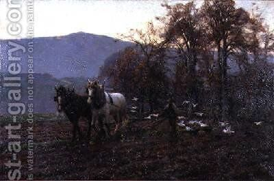 Until The Evening by Arthur Meade - Reproduction Oil Painting