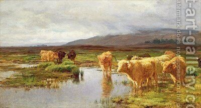 Moorlands and Mist by Duncan McLaurin - Reproduction Oil Painting