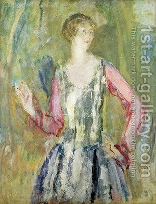 Miss Nancy Cunard 1925 by Ambrose McEvoy - Reproduction Oil Painting