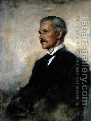 Portrait of James Ramsay MacDonald 1866-1937 1925 by Ambrose McEvoy - Reproduction Oil Painting