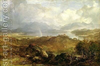 My Hearts in the Highlands 1860 by Horatio McCulloch - Reproduction Oil Painting