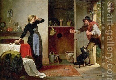 Home Again 1884 by Frederick McCubbin - Reproduction Oil Painting