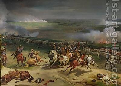 Battle of Valmy 20th September 1792 1835 by Jean Baptiste Mauzaisse - Reproduction Oil Painting