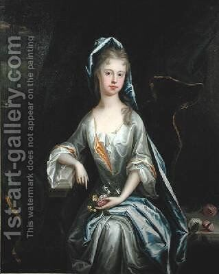 Portrait of a Lady by James Francis Maubert - Reproduction Oil Painting
