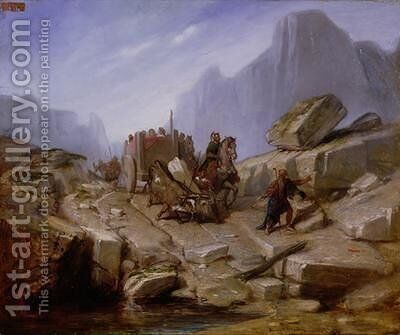 The Taking of Thelesia by Hannibal and his Army 1860 by Benedict Masson - Reproduction Oil Painting