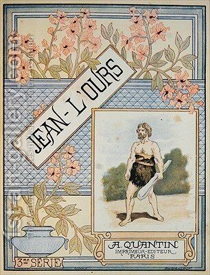 Frontispiece of Jean-LOurs by Masse - Reproduction Oil Painting