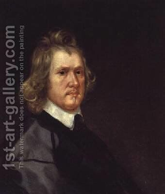 Oliver Cromwell by Edward Mascall - Reproduction Oil Painting