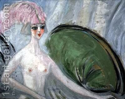 The Nude Woman by Jacqueline Marval - Reproduction Oil Painting