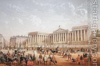 The British Museum 1862 by Achille-Louis Martinet - Reproduction Oil Painting