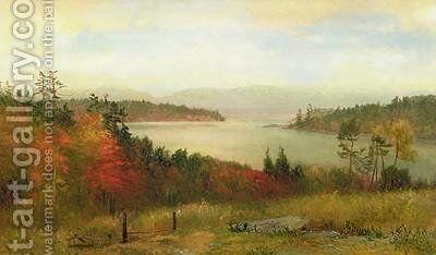 Raquette Lake 1869 by Homer Dodge Martin - Reproduction Oil Painting