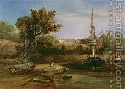 Sydney Cove 1842 by Conrad Martens - Reproduction Oil Painting