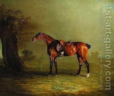 Racehorse by Benjamin Marshall - Reproduction Oil Painting
