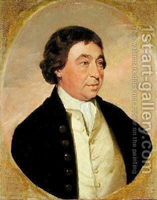 Josiah Rose of Liverpool 1790-1800 by Benjamin Marshall - Reproduction Oil Painting