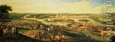 Siege of Magdeburg 20th March 1631 by Alexander Marshal - Reproduction Oil Painting