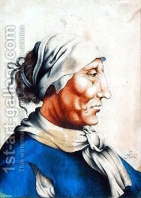 Head of an Old Man by Alexander Marshal - Reproduction Oil Painting