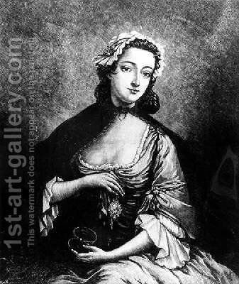Portrait of Flora Macdonald 1722-90 by (after) Markluin, J - Reproduction Oil Painting