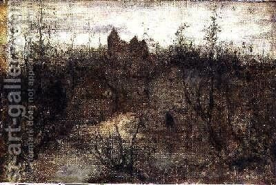 The Enchanted Castle 1887 by Matthijs Maris - Reproduction Oil Painting