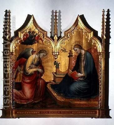 Annunciation by di Nardo Mariotto - Reproduction Oil Painting